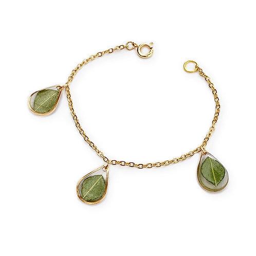 Eucalyptus Bracelet ○ Teardrop