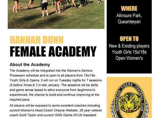 Hannah Dunn Female Academy – Official Flyer!