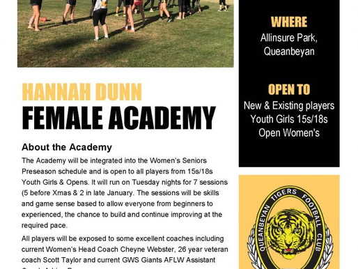 Hannah Dunn Female Academy – Official Flyer!