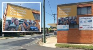 ActewAGL billboard