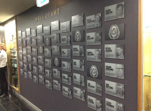 New Wall of Fame Unveiled