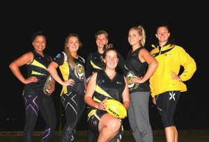 SEVEN Queanbeyan Tigerettes players have been selected in the Australian Capital Territory representative squad