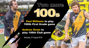 100 games - Williams and Swan