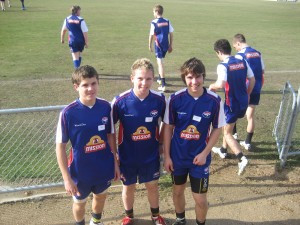 Tigers Players attend the Western Bulldogs Academy!
