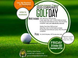 Ian McNamee Tigers Corporate Golf Day