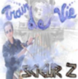 """jaquette CD """"Train de vie"""", Scieur Z"""