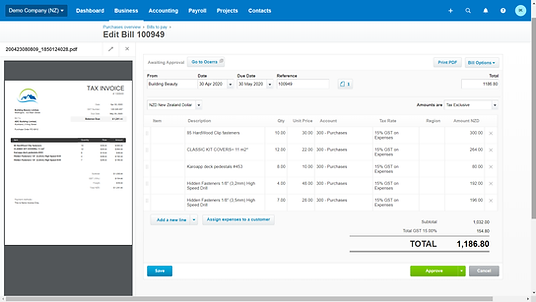 AP automation for Xero