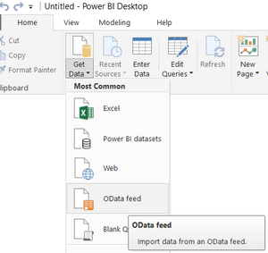 OData feed: connecting Ocerra AP automation