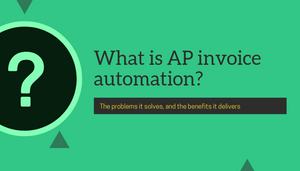 What is AP invoice automation