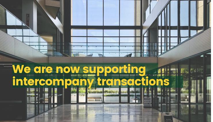 Intercompany transactions using AP automation