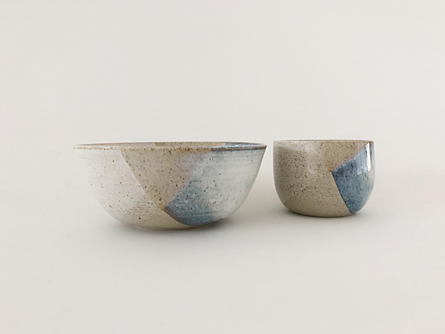 Rustic bowl set
