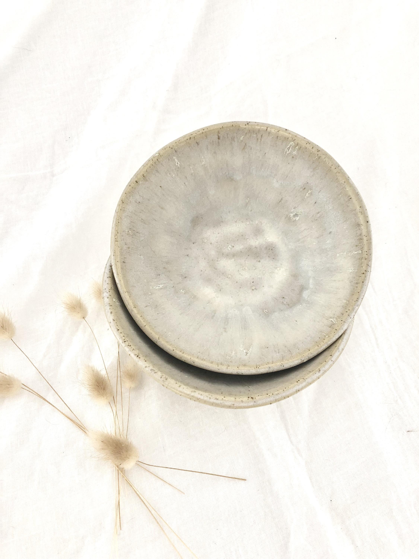White Husk bowl set