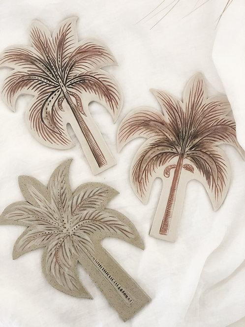 Ceramic Palm- Wall Art