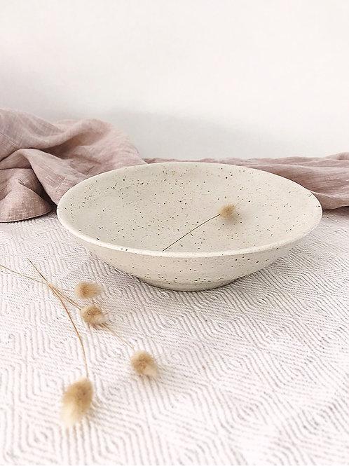 Salty Raku Bowl