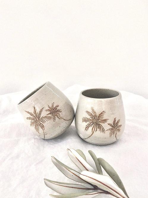 Plantation handless mug