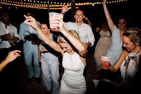 Bride dancing at a wedding