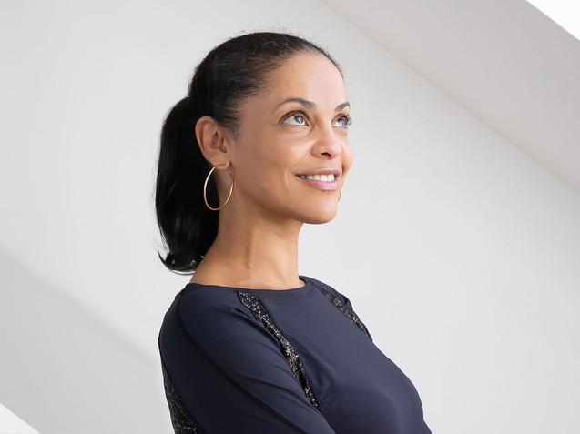Portrait Professeure de Yoga