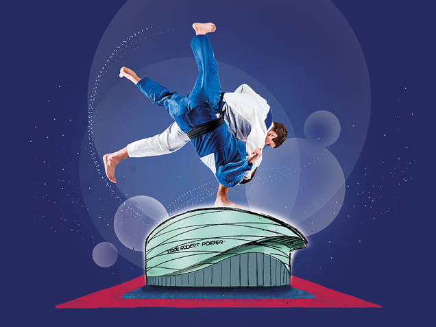 Visuel pour affiche des Championnats de France de Judo