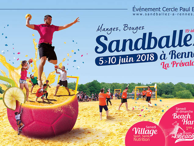 Affiche Sandballez à Rennes