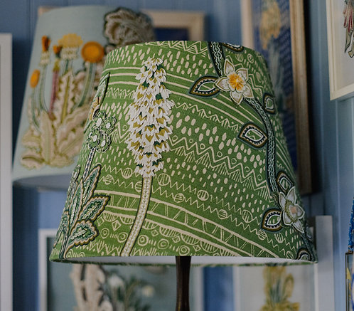 Forest Green Lampshade
