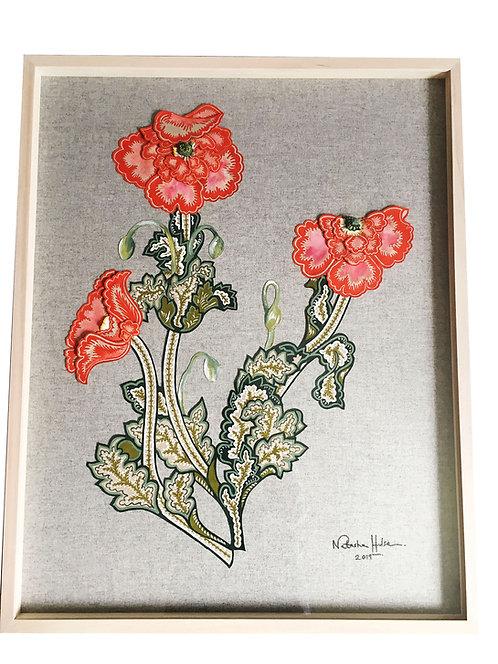 Wild Field Poppy Flower