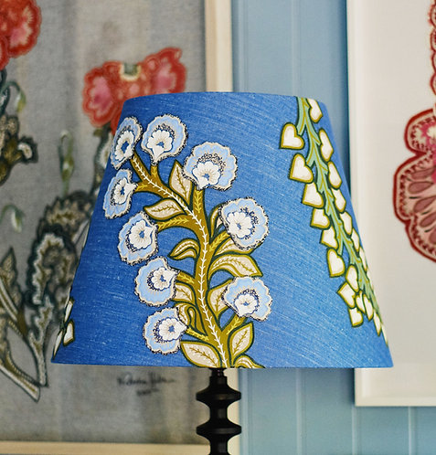 Blue Chelsea Lampshade