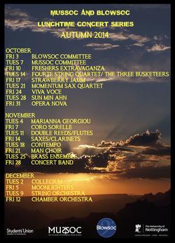 2014 Autumn LTC Programme