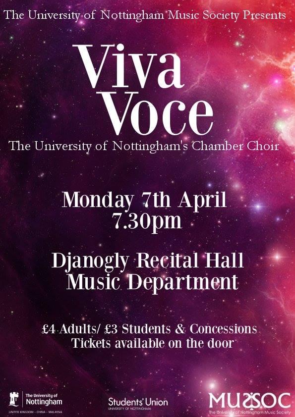 Vive Voce Spring Concert