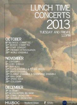 2013 Autumn LTC Programme