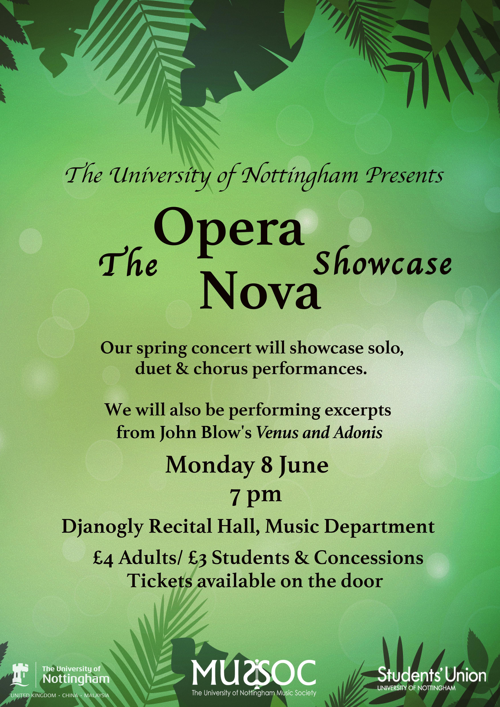 Opera Nova June Concert