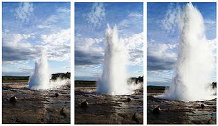 The geyser Strokkur