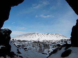 Tho Hole cliff in Dimmuborgir
