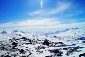 The mountain view at Tröllaskagi