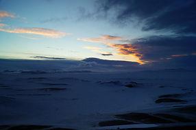 Sunsett at Trölladyngja