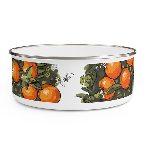 Orange BL-AWESOME Bowl with Lid