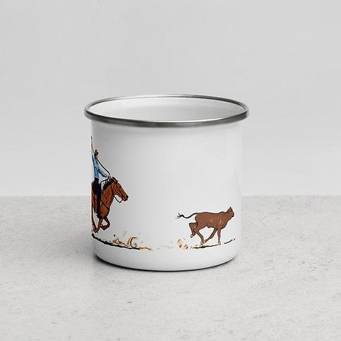 Herd that Enamel Mug