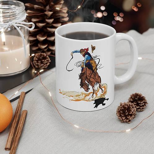 11oz Wild West Coffee Mug
