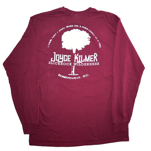 Long Sleeve - Maroon - Unisex