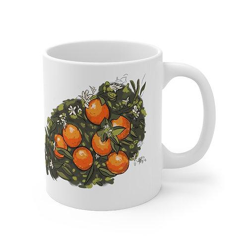 Old Florida Orange Blossom Mug