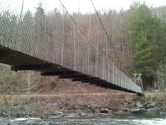 Bridge over cheoah River, winter 2013-20