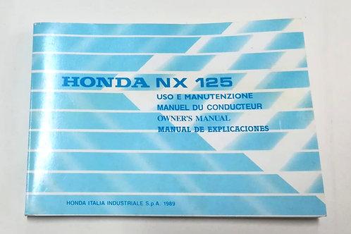 Honda NX125 - ITALIANO
