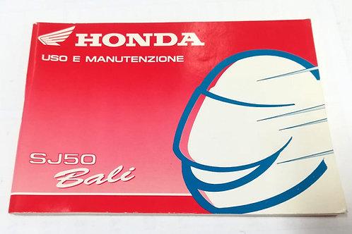 Honda SJ50 BALI - ITALIANO