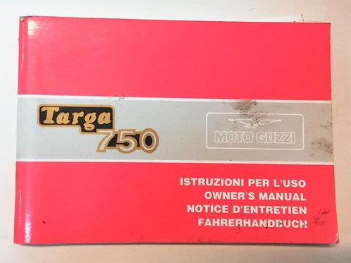 Moto Guzzi TARGA 750 - ITALIANO