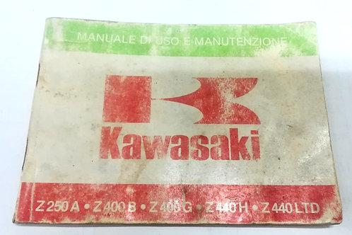 Kawasaki Z 750 A / Z 400 B / Z 400 G / Z 440 H / Z 440 LTD - ITALIANO