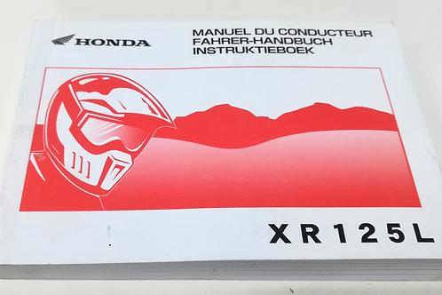 Honda XR125 L - FRANCESE