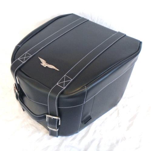 Moto Guzzi bauletto posteriore in pelle
