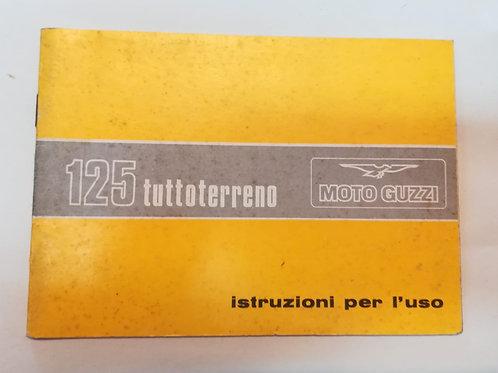 Moto Guzzi 125 TUTTOTERRENO - ITALIANO