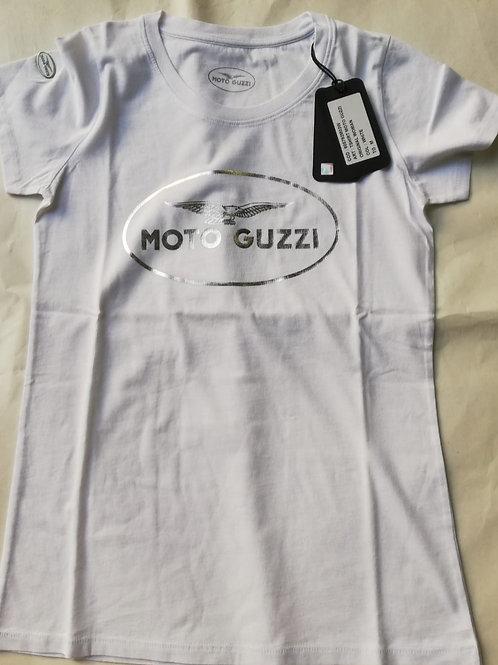 """Moto Guzzi T-Shirt """"Logo"""" Woman"""