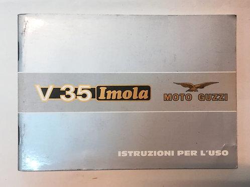 Moto Guzzi V 35 IMOLA - ITALIANO