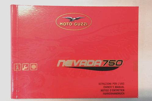 Moto Guzzi NEVADA 750 - ITALIANO
